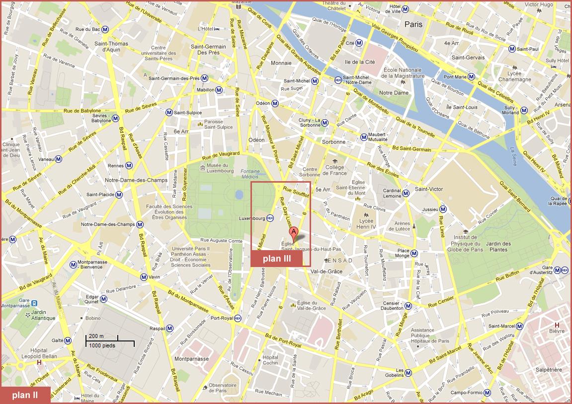 2 room apartment for rent paris 05 jardin du for Jardin 05